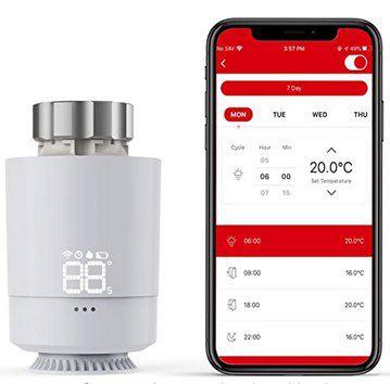 SASWELL SEA802DF Thermostat mit App Anbindung & Bridge für 67,49€ (statt 90€)