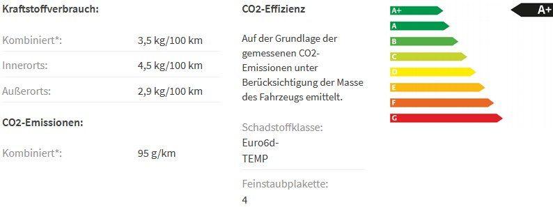 Privat: Skoda Kamiq Ambition 1,0 TGI (Erdgas) G TEC mit 90PS für 135,50€ mtl.   LF 0,67