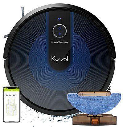 Kyvol E31 Saugroboter mit Wischfunktion, 2.200Pa & 150 Min Laufzeit für 179,99€ (statt 230€)