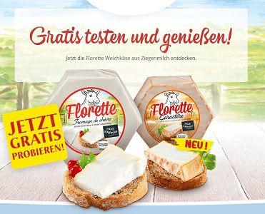 Jetzt Ziegenkäse von Florette gratis probieren