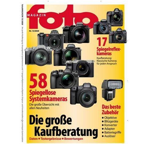 12 Ausgaben vom foto Magazin für 92,40€ + 80€ Amazon Gutschein