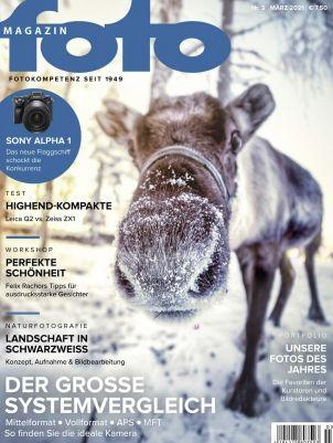 3 Ausgaben vom foto Magazin für 24€ + 20€ BestChoice Gutschein