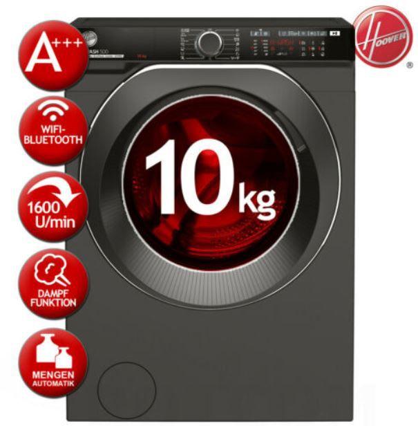 Abgelaufen! Hoover HWPDQ410AMBCR S Waschmaschine 10kg mit App u. Dampf für 386,91€ (statt 559€)