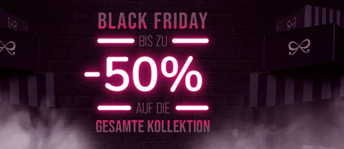 Hunkemöller Black Freitag: bis 50% auf (fast) alles   günstige BHs, Slips, Nachtwäsche, Bikinis + 5% Member Rabatt