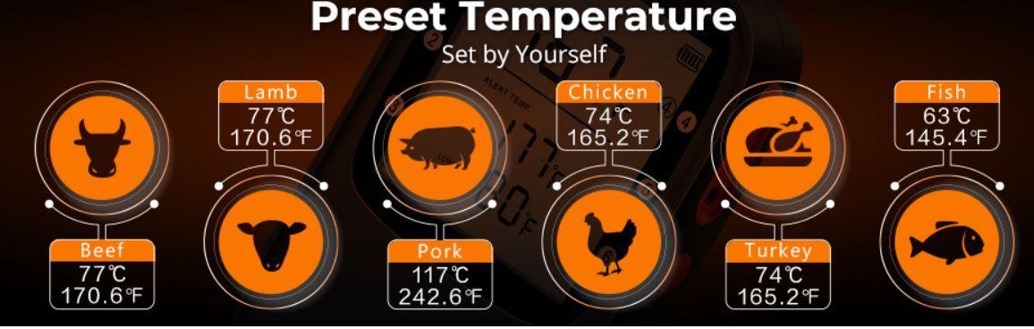 Govee Bluetooth Grillthermometer mit 2 Sensoren, Basisstation und App für 19,99€ (statt 30€)