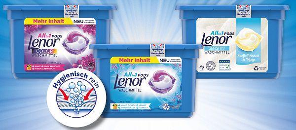 Lenor Waschmittel Pods kostenlos ausprobieren