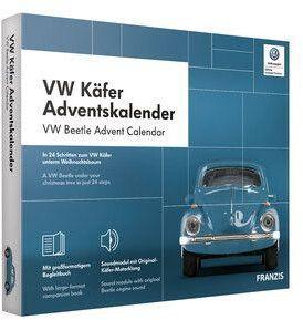 VW Käfer Adventskalender 2020 (Bausatz) für 32€ (statt 36€)