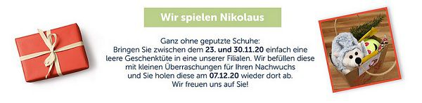 myToys: Kostenlose Nikolaus Aktion