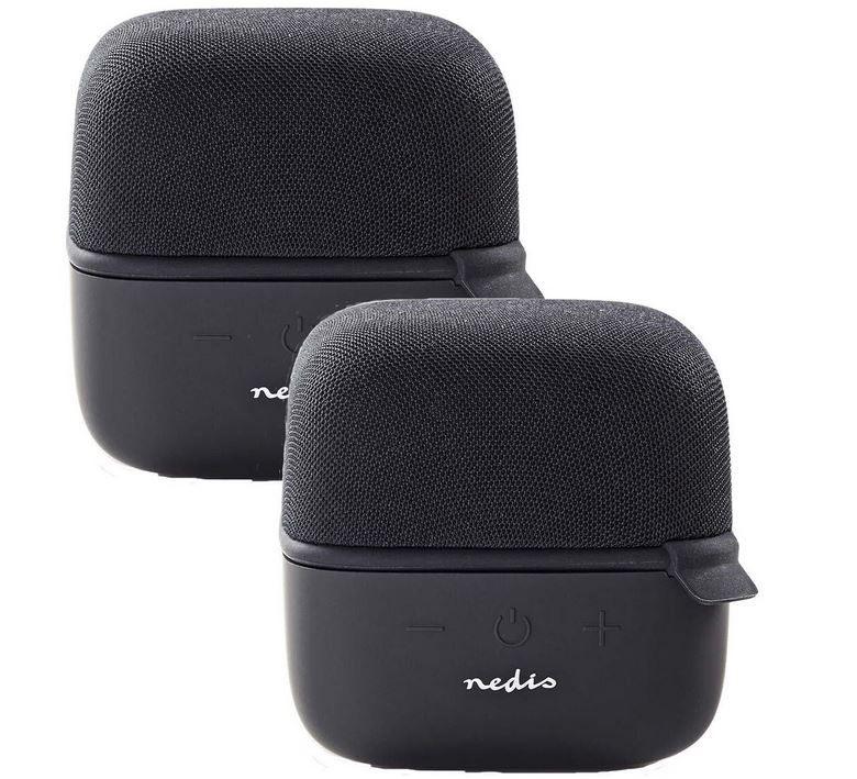 Bestpreis: Nedis 2er Pack Bluetooth Lautsprecher 15 W True Wireless Stereo für 16,87€ (statt 40€)