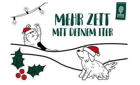 Mit Green Petfood Adventskalender basteln
