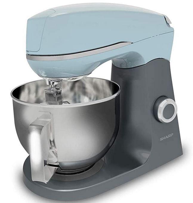 Sharp SA FK3003 Küchenmaschine mit 1.000Watt 4,6l Volumen für 79,99€ (statt 119€)