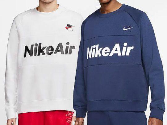 Nike Air Fleece Rundhalspullover in 2 Farben für je 27,63€ (statt 36€)