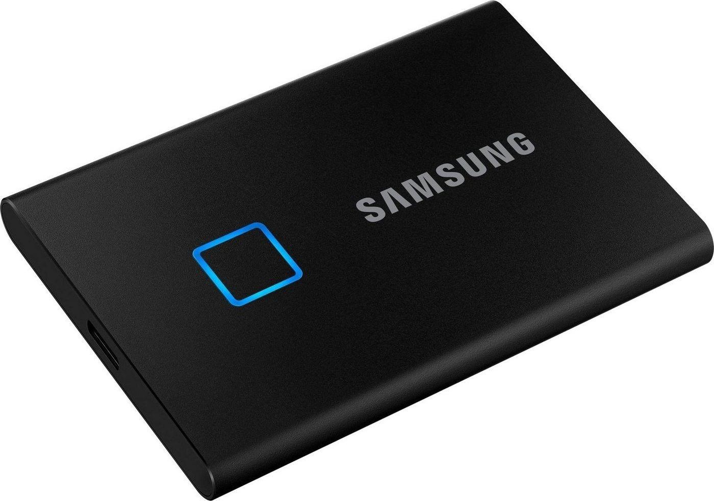 Samsung Portable SSD T7 Touch 500GB Silber für 69,95€(statt 93€)