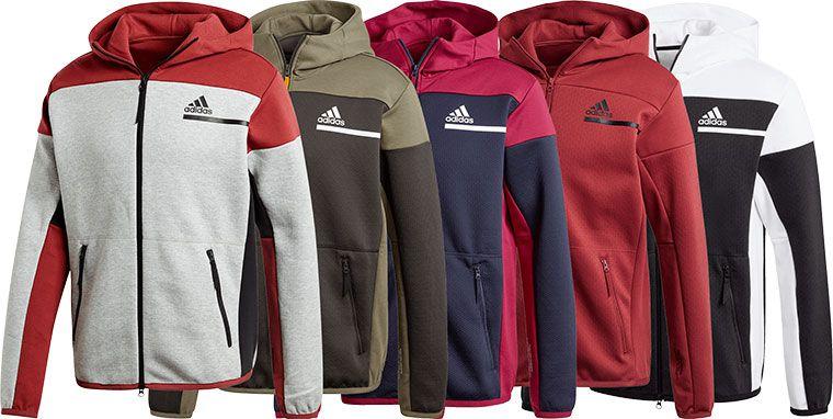adidas Kapuzenjacke ZNE FZ Aeroready (diverse Farben) für je 49,95€ (statt 67€)