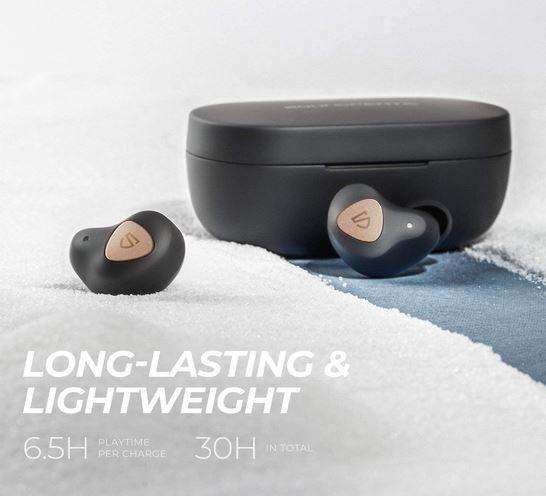 SoundPEATS Bluetooth True Wireles Earbuds für 34,99€ (statt 50€)