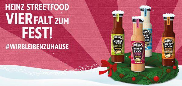 Heinz Streetfood Saucen kostenlos ausprobieren