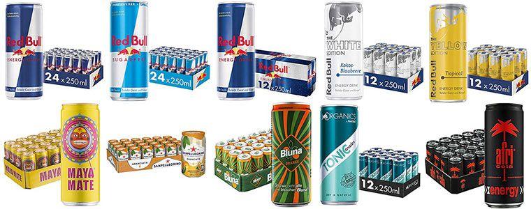 Cola, Energydrinks & Limo im Vorteilspack bei Amazon z.B. Red Bull, Sanpellegrino, Fanta, Cola & Co.