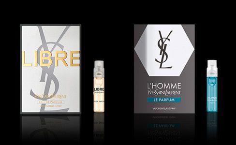 Zwei kostenlose Parfümproben von Yves Saint Laurent abholen