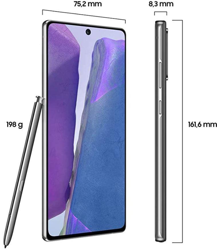Samsung Galaxy Note 20 mit 256GB für 602€ (statt 650€)