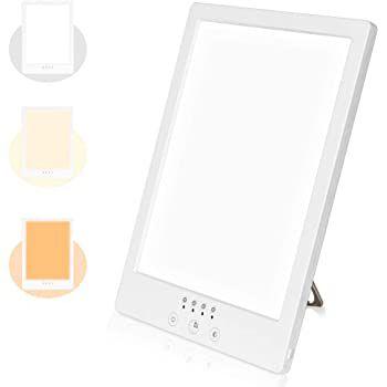 WELTEAYO Tageslichtlampe mit 10.000 Lux & 3 Stufen für 25,19€ (statt 36€)