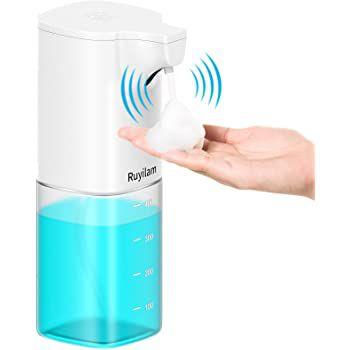 Ruyilam automatischer Schaumseifenspender (400ml) für 11,99€   Prime