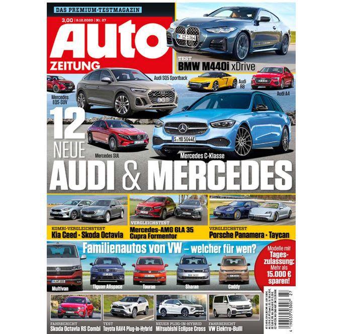 28 Ausgaben Auto Zeitung für 87,10€ + 65€ V-Scheck