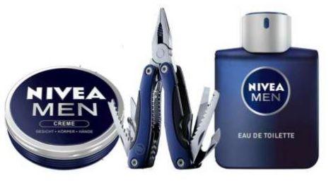 eBay: 20% Rabatt auf ausgewählte Geschenkideen   z.B. Nivea Eau de Toilette Set inkl. Multitool für 23,99€