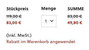 Fossil Luther BQ2311IE Herrenuhr mit Lederarmband für 49,80€ (statt 107€)
