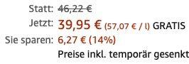 Vorbei! Amrut Indian Peated Cask Strength Single Malt mit Geschenkverpackung für 39,95€(statt 46€)