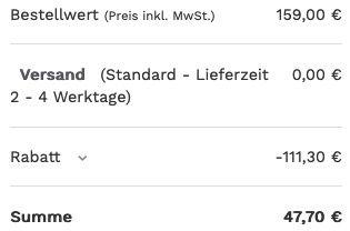 Skagen Herrenuhr Norre 3 Zeiger Werk in Silber für 47,70€ (statt 135€)
