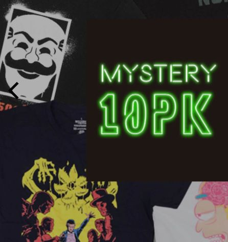 10er Pack Mystery Geek T Shirts (Marvel, Star Wars uvm.) für 29,99€ (statt 65€)