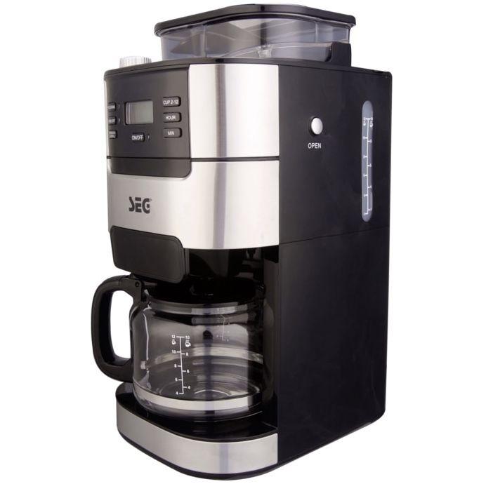 SEG KM1025 Kaffeemaschine mit integriertem Mahlwerk für 54,94€ (statt 80€)