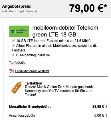 OPPO Reno4 Pro 5G mit 256GB für 79€ + Telekom Allnet Flat mit 18GB LTE für 29,99€ mtl.
