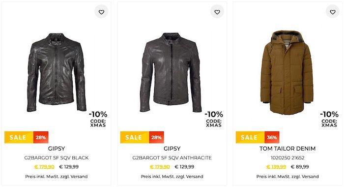 10% Rabatt bei Tara M auf bereits reduzierte Jacken & Weihnachtsartikel   z.B. Tom Tailor Denim Parka für 80,99€