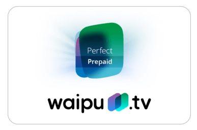 waipu.tv Perfect und Comfort Gutscheinkarten mit 50% Rabatt   z.B. 12 Monate Perfect für 59,99€ (statt 120€)