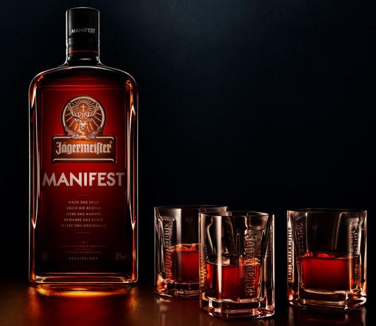 Jägermeister Manifest inkl. 3 original Manifest Gläsern für 33,15€