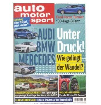 Jahresabo Auto Motor und Sport mit 26 Ausgaben für 99,90€ + 90€ Gutschein