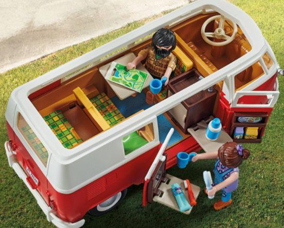 Playmobil Volkswagen T1 Camping Bus (70176) für 42,67€ (statt 55€)