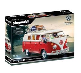 Playmobil Volkswagen T1 Camping Bus (70176) für 30,98€ (statt 37€)