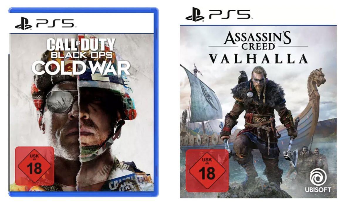 Games 3 für 2 Aktion (auch PS5)   z.B. CoD + Assassins Creed + Spider Man für 147,94€(statt 194€)