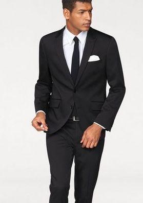 Bruno Banani Anzug mit Krawatte und Einstecktuch für 111,99€ (statt 140€)