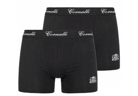 Cornalli Herren 2er Pack Boxershorts in verschiedenen Farben für 4,44€ (statt 10€)   heute keine VSK