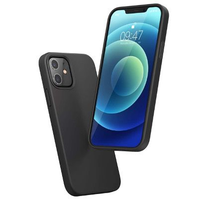 UGREEN Silikon Schutzhülle für das Apple iPhone 12 Pro mit Anti Fingerabdruck in Schwarz für 5,99€ (statt 10€)