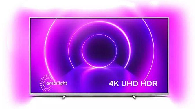 Philips 70 UltraHD 4K mit Ambilight + Soundbar mit Subwoofer für 1.071,31€ (statt 1.470€)