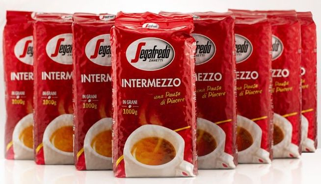 8kg Segafredo Intermezzo ganze Bohnen für 62,77€(statt 72€)