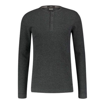 BOSS Herren Pullover Trix aus 100% Baumwolle in Schwarz für 51,70€ (statt 80€)
