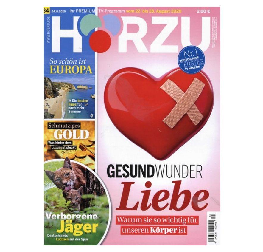 52 Ausgaben HÖRZU TV Zeitschrift für 19,90€