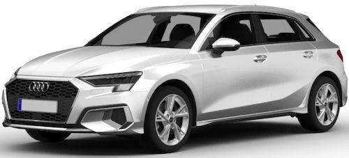 Privat: Audi A3 Sportback 40 TFSIe Hybrid mit 204 PS für 179€ mtl.   oder im Gewerbe für 119€mtl. netto