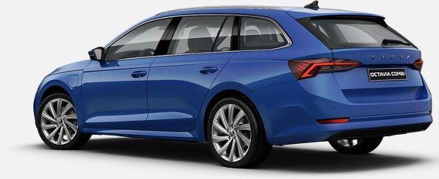 Privat & Gewerbe: Skoda Octavia Combi Style iV Hybrid in Energy Blau für 175€ mtl.   LF 0,54