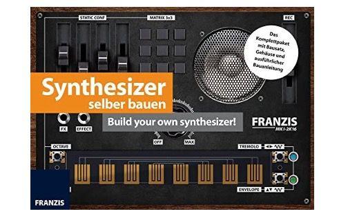 Franzis Synthesizer selberbauen Komplettpaket mit Bausatz zum Basteln und Löten für 11,95€ (statt 20€)